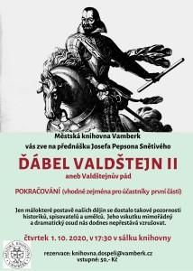 přednáška Valdštejn II